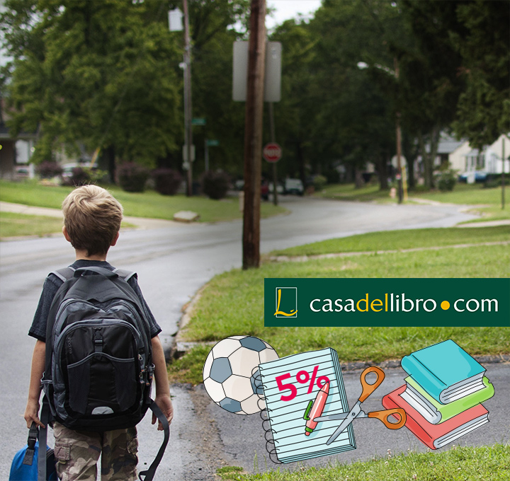 descuento libros texto-Vuelta al cole-CL-ES-colegial mochila-5% casa del libro-SMC-1