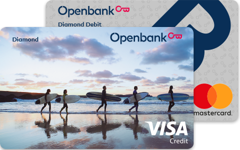 Debit and Credit Pack Diamond Surf
