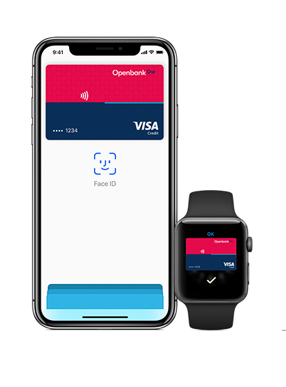 Pay with your Visa and Mastercard cards through your iPhone, iPad or Apple Watch