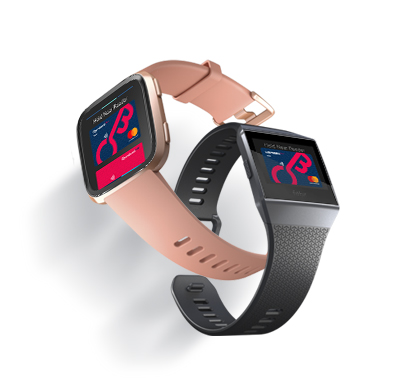Pay quickly and easily with Fitbit smartwatches